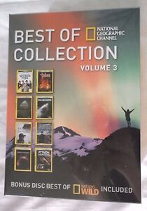 Best of National Geographic Collection Volume 3 (DVD, Disc Set) Brand New Shows