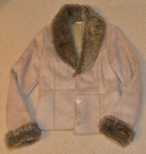 George Suede Fur Jacket with Soft Lining ~ Size 10 ~