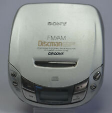 Sony Walkman Discman CD Portable Player D-F415 ESP2 FM/AM GROOVE STEADYSOUND