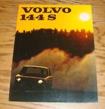 Original 1967 Volvo 144 S Sales Brochure 67