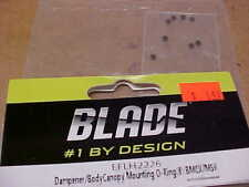 BLADE HELICOPTER PART - EFLH2226 = DAMPENER / CANOPY O-RINGS : BMCX / MSR (NEW)