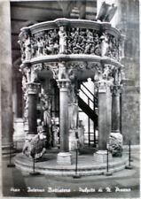 1960 PISA Interno Battistero Pulpito di N.Pisano