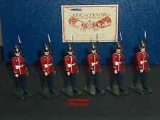 King and Country Gloss Highland Light Infantry METAL Toy Soldier Figure Set