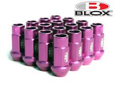 BLOX LUG NUTS NUT Honda Acura Mazda Toyota Mitsubishi / Purple / 12X1.5 / QTY16