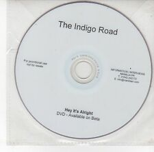 (DS927) The Indigo Road, Hey It's Alright - DJ DVD