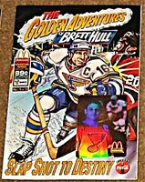 GOLDEN ADVENTURES OF BRETT HULL 1 McDONALDS GIVEAWAY PROMO '94 RARE VF COCA COLA