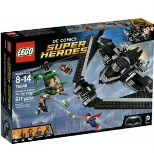LEGO® Heroes of Justice: Sky High Battle (76046) Rare Retired, New & Sealed
