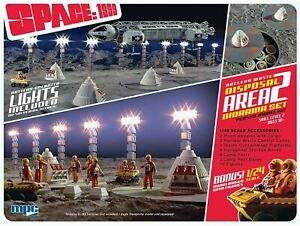 MPC 1/48 Space: 1999 Nuclear Waste Area 2 Diorama Kit MPC860