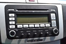 VW B6 Passat '06-'10 OEM 6 Disc Premium 7 Radio/CD Player 1K0 035 180C