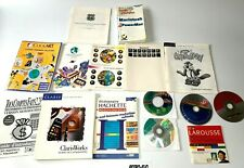 Gros Lot De Notices / Guides Logciels Apple Macintosh - Vintage - RARE