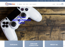Turnkey Dropshipping VIDEO GAMES Store - Premium Business Website Free Hosting a