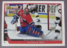 1993-94 Upper Deck #49 Patrick Roy Montreal Canadiens