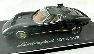 Kyosho Lamborghini Jota SVR Black 1/43 Scale No.03201R <z07>