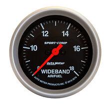 AUTO METER 3579 2-5/8 S/C WIDEBAND AIR/FUEL GAUGE & SENSOR