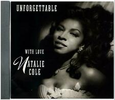 CD SALE!! ~ NATALIE COLE ~ UNFORGETTABLE WITH LOVE ~ 22 MEMORABLE JAZZ TRACKS!