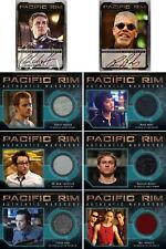 Pacific Rim Binder Set with Charlie Hunnam & Ron Perlman Autograph Cards