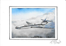 KUNSTDRUCK - Air France, Sud-Aviation Caravelle.