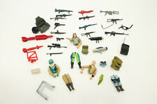 Vtg G I Joe Parts-Guns,Backpacks,Figu re Parts&Other Assorted Accessories Weapons