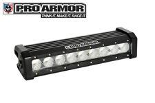 "Pro Armor 11"" Single Row CREE LED Off-Road Combo FLOOD Bumper Light Bar A16UL164"