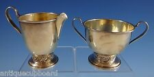 Silver Rose by Oneida Sugar & Creamer Set 2pc #609 (#1119)