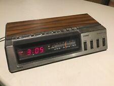 Vintage Sears STEREO CLOCK RADIO w/ Dual Volume, Model No 317.23350 250, AWESOME