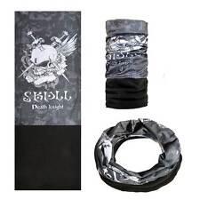 Fascia tubolare elastica multiuso bandana copri capo scalda collo DEATH KNIGHT