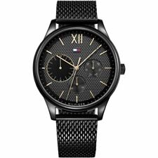 New Tommy Hilfiger Men's Damon Chronograph Black Watch 1791420