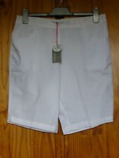 Marisota tamaño 14 Algodón Pantalones Cortos Blanco