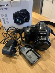 Panasonic LUMIX DMC-FZ72 16.1MP Digital Camera - Black