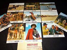 LA ROUTE DE L' OUEST k douglas jeu 24 photos heliogravures cinema western 1967
