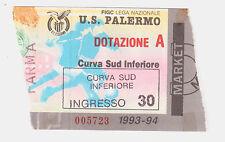 54222 Biglietto stadio - Palermo Parma - 1993/1994