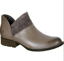 Born Karava Slip On Ankle Booties Taupe, Size 8.5 M