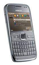 ORIGINAL Nokia E72 Silver 100% UNLOCKED Cellular Phone 3G WIFI GSM Warranty FREE