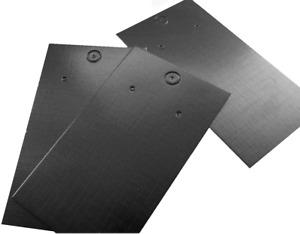 Jewellery Display Cards Black Earring Plain  9cm x 5cm