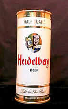 HEIDELBERG BEER - MID 1950'S - 16OZ HALF QUART FLAT TOP CAN - TACOMA - AWESOME