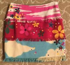 Vintage Moschino Skirt Cotton & Linen Size 42 (U.S. 8)