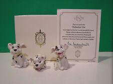 LENOX Disney DALMATIAN TRIO 3 Dog Set sculpture NEW in BOX with COA