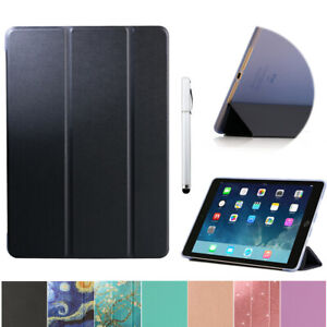 For iPad Air 2 Case Flip Folding Cover Smart Shell Auto Sleep / Wake
