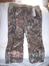 3X Mossy Oak Country Camo Pants Lined Scent Factor Hunting Water Resistant Quiet