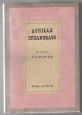 Savinio A. ACHILLE INNAMORATO Prosatori Italiani Contemporanei 1938 Prima ed.