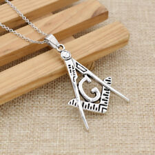 Titanium Steel G Necklace Free-Mason Masonic Symbol Charity Spirit New Jewelry