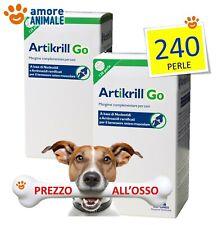 2 CONFEZIONI - NBF Lanes Artikrill Go 120 Compresse - Condroprotettore per cani.