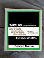 Suzuki DF70a DF80a DF90a outboard boat 4 stroke motor service workshop manual