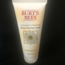 Burt'S Bees Soap Bark & Chamomile Deep Cleansing Cream 6 Oz New
