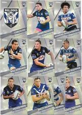 2018 NRL Traders Pearl Parallel Special BULLDOGS Team Set