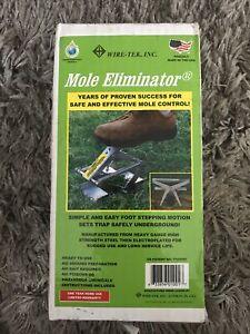 WIRE TEK MOLE ELIMINATOR TRAP Made In USA