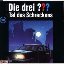 """DIE DREI ??? """"TAL DES SCHRECKENS (FOLGE 98)"""" CD HÖRBUCH NEUWARE"""