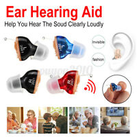 Digital Mini Invisibly In Ear Hearing Aid Enhancer Sound Voice Amplifier  !S