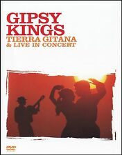 GIPSY KINGS - TIERRA GITANA + LIVE IN CONCERT DVD ~BAMBOLEO~FLAMENCO~GYPSY *NEW*