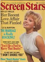 Screen Stars Mag Hayley Mills Liz Taylor December 1965 062919nonr